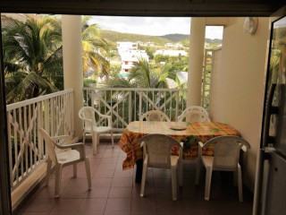 Location vacances Appartement Diamant: terrasse ...<br />