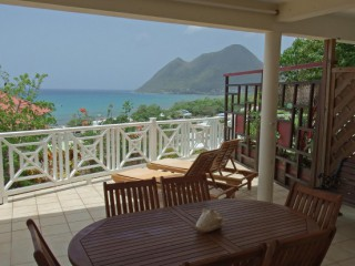 Location Appartement Martinique - terrasse couverte