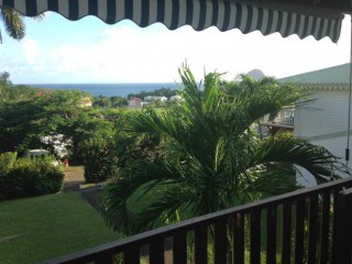 Location Appartement Martinique - vue de la terrasse