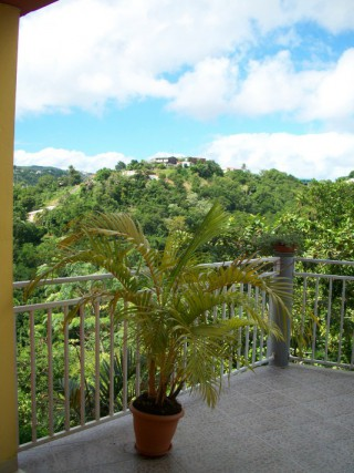 Location Appartement Martinique - Vue terrasse