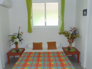 Blue ou green madras : Appartement Martinique