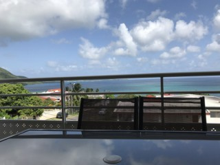 Location vacances Appartement Sainte-Luce: martinique - sainte Luce - vue terrasse ...<br />