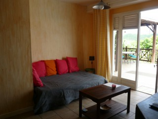 Location Appartement Martinique - le salon