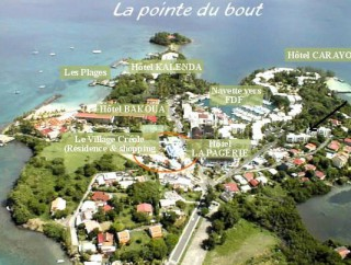 Location Appartement Martinique - plan en image