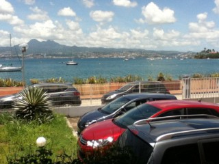 Location Appartement Martinique : vue mer, clim, internet