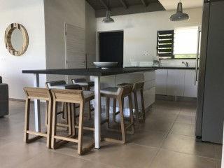 Location Appartement Saint-Martin - table a manger