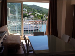 Location Studio Saint-Martin - vue balcon