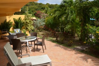 Location Appartement Saint-Martin - Terrasse Villa Orange
