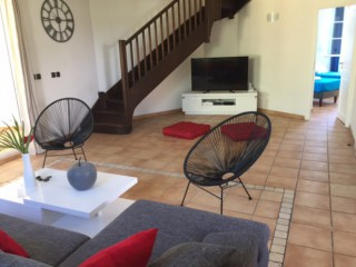 Location Appartement Saint-Martin - le salon et la TV