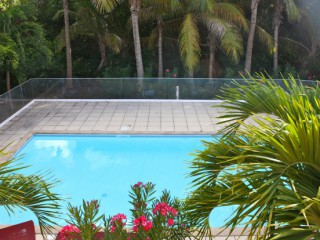Location Appartement Saint-Martin - LES LATANIERS 17, piscine commune