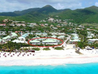 Location vacances Appartement Orient-Baie: RESIDENCE CARIBBEAN PRINCESS / PLAGE ! ...<br />