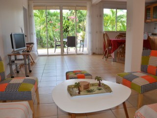 Location Appartement Saint-Martin - Villa Orange Living Room