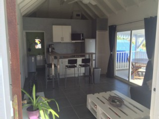 Location Appartement Saint-Martin - Grande baie vitrée