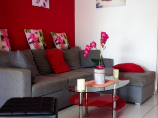 Location Appartement Saint-Martin - Le coin salon