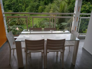 Location vacances Appartement standing Abymes: TERRASSE ...<br />
