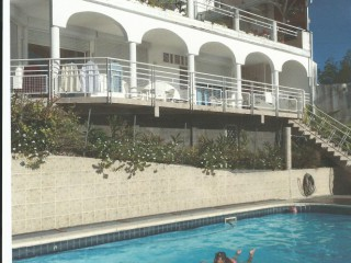 Location Appartement standing Guadeloupe : vue mer, piscine, clim, internet