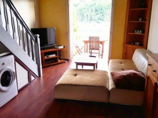 Location Appartement standing Guadeloupe - (F2) Salon