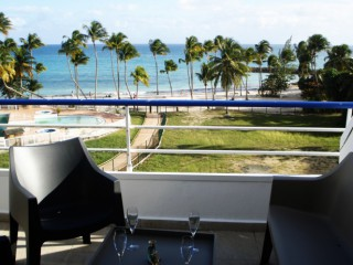 Location Appartement standing Guadeloupe - vue mer
