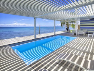 Location Appartement standing Guadeloupe : vue mer, piscine, climatisation, internet