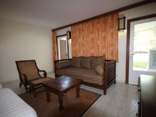 Location Appartement standing Guadeloupe - banquette lit