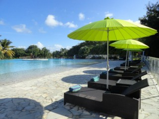 Location Appartement standing Guadeloupe - piscine