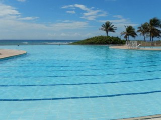 Location Appartement Guadeloupe - Piscine vue mer