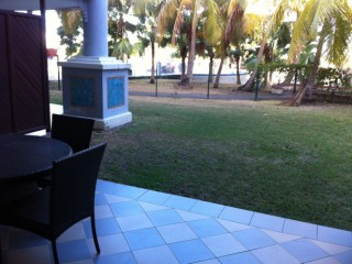 Location Appartement standing Guadeloupe - terrasse