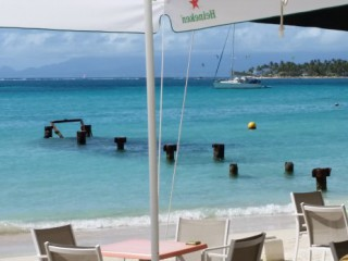 Location Appartement standing Guadeloupe : vue mer, climatisation, internet