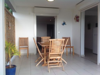 Location vacances Appartement standing Anses-d'Arlet: Terrasse ...<br />