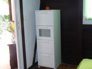 Location Bungalow Guadeloupe - Chambre 2