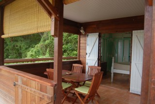 Location Bungalow Guadeloupe - Terasse