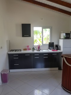 Location Bungalow Guadeloupe : vue mer, clim