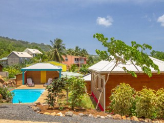 Cottages amour deshaies : Sandrine Guadeloupe