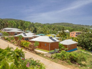 Cottages amour deshaies : Bungalow Guadeloupe