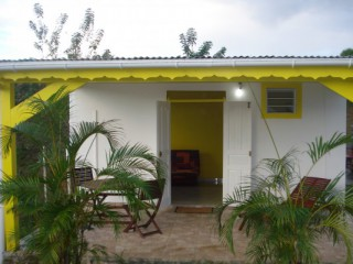 Location Bungalow Guadeloupe: vue mer, climatisation, connexion internet