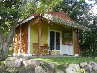 Location Bungalow Guadeloupe : vue mer, clim, internet
