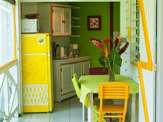 Location Bungalow Guadeloupe - coin repas