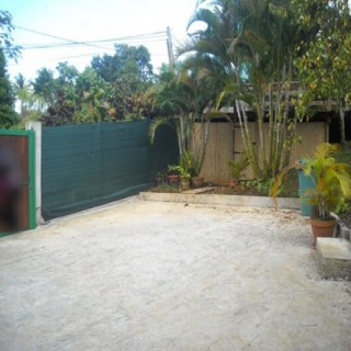 Location Bungalow Guadeloupe - Parking