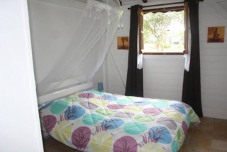 Location Bungalow Guadeloupe - Chambre