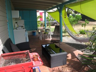 Location Bungalow Guadeloupe - ....l'indispensable BBQ