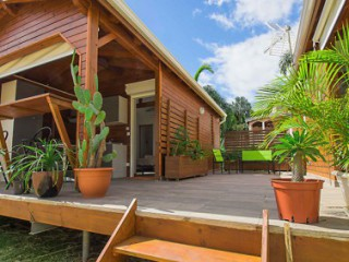 Location Bungalow Guadeloupe - acces aux bungalows