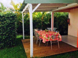 Location Bungalow Guadeloupe - terrasse T4