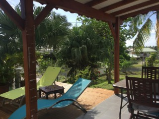 Location Bungalow Guadeloupe : vue mer, climatisation, internet