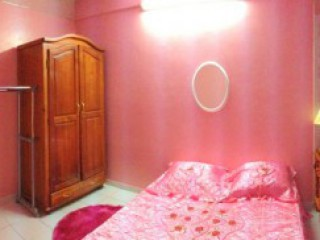Location Bungalow Guadeloupe - T3 Rose Paruline Chambre