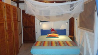 Location Bungalow Guadeloupe - Lit 160x200