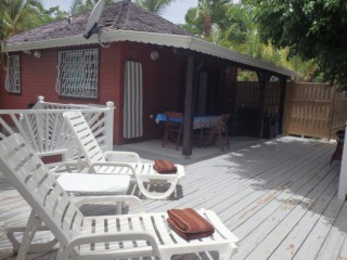 Location Bungalow Saint-Martin : clim