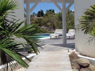 Location Bungalow Saint-Martin : piscine, climatisation, internet