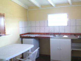 Kitchenette en option