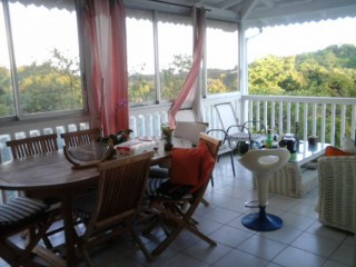 Location Chambre d'hôtes Guadeloupe - terrasse