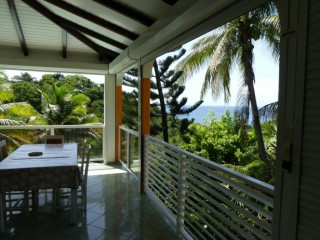 Location Duplex Guadeloupe - salle a manger